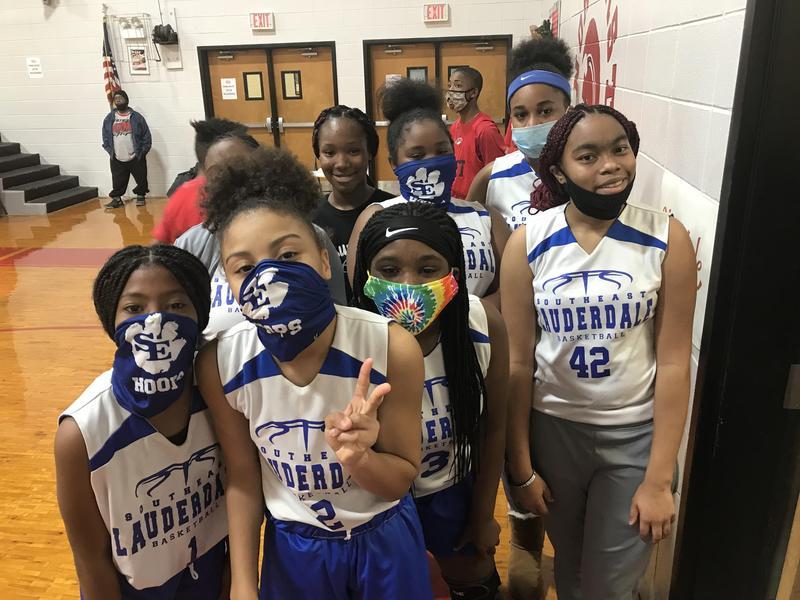 SEMS 7th Grade Girls Basketball Team