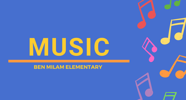 Music Page, Ben Milam Elementary