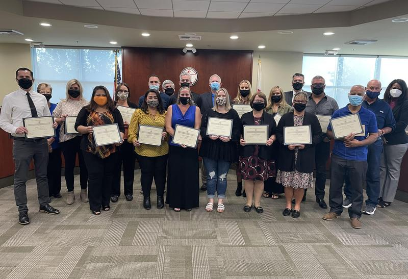 2021 Hart District Classified Employees of the Year