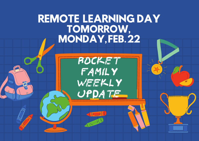Rocket Family Weekly Update - February 22-26 Featured Photo