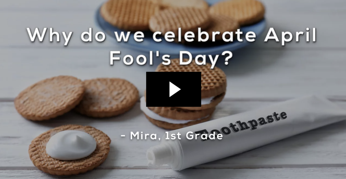 Why Celebrate April Fool's Day?