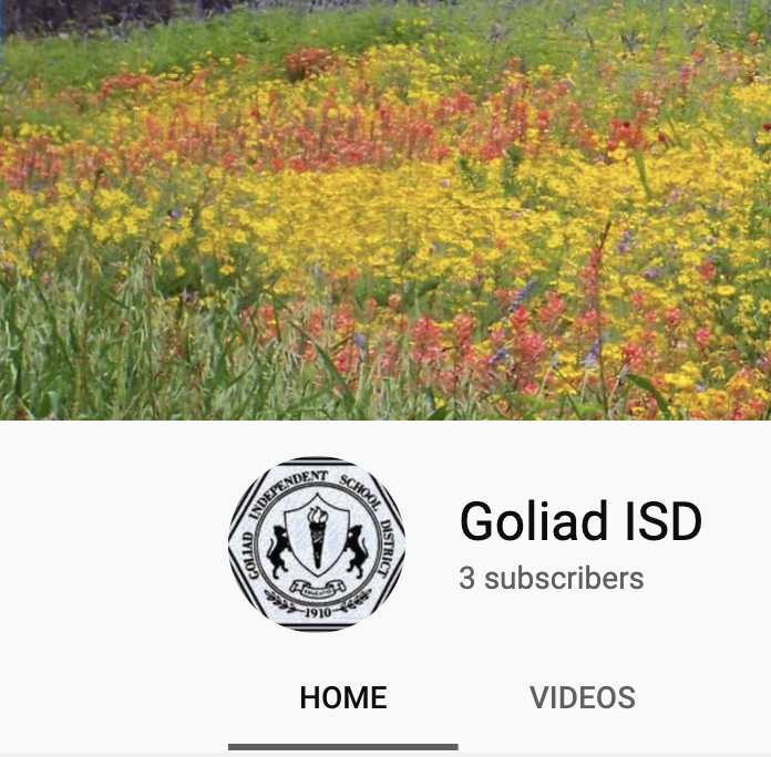 Goliad ISD Youtube Channel Featured Photo
