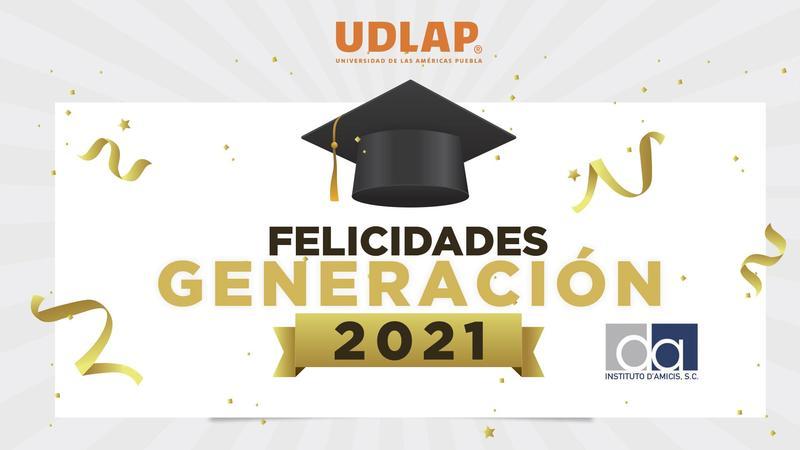 Felicidades GENERACIÓN 2018-2021 Featured Photo