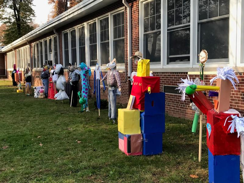 Smalley School Scarecrows Featured Photo