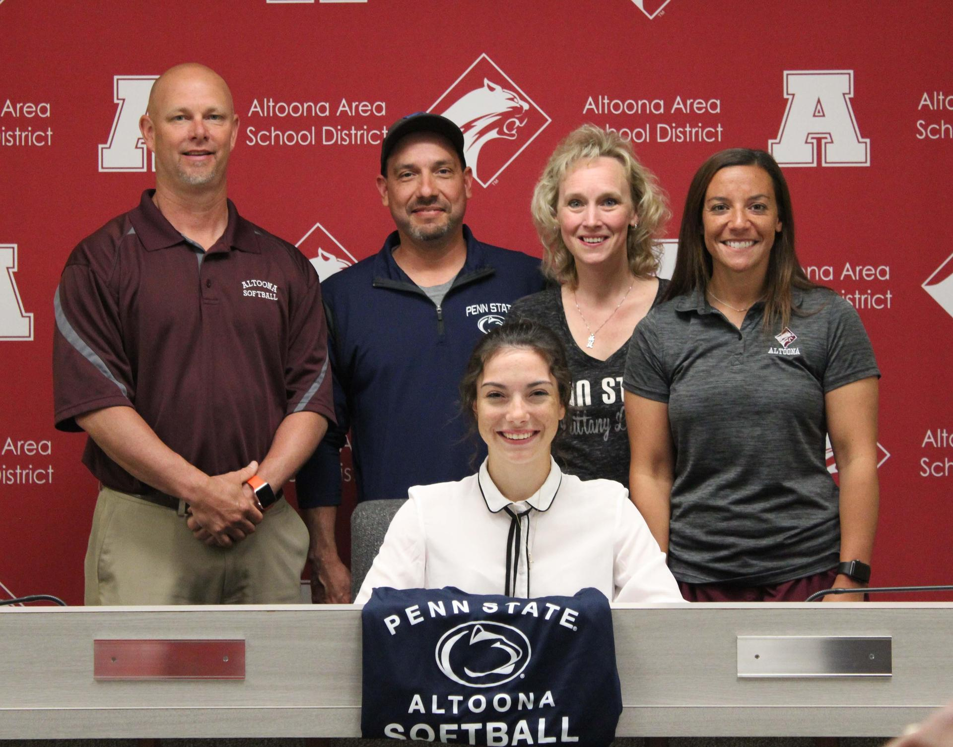 Kierra Moist, Coach Benson and Beagle and Family