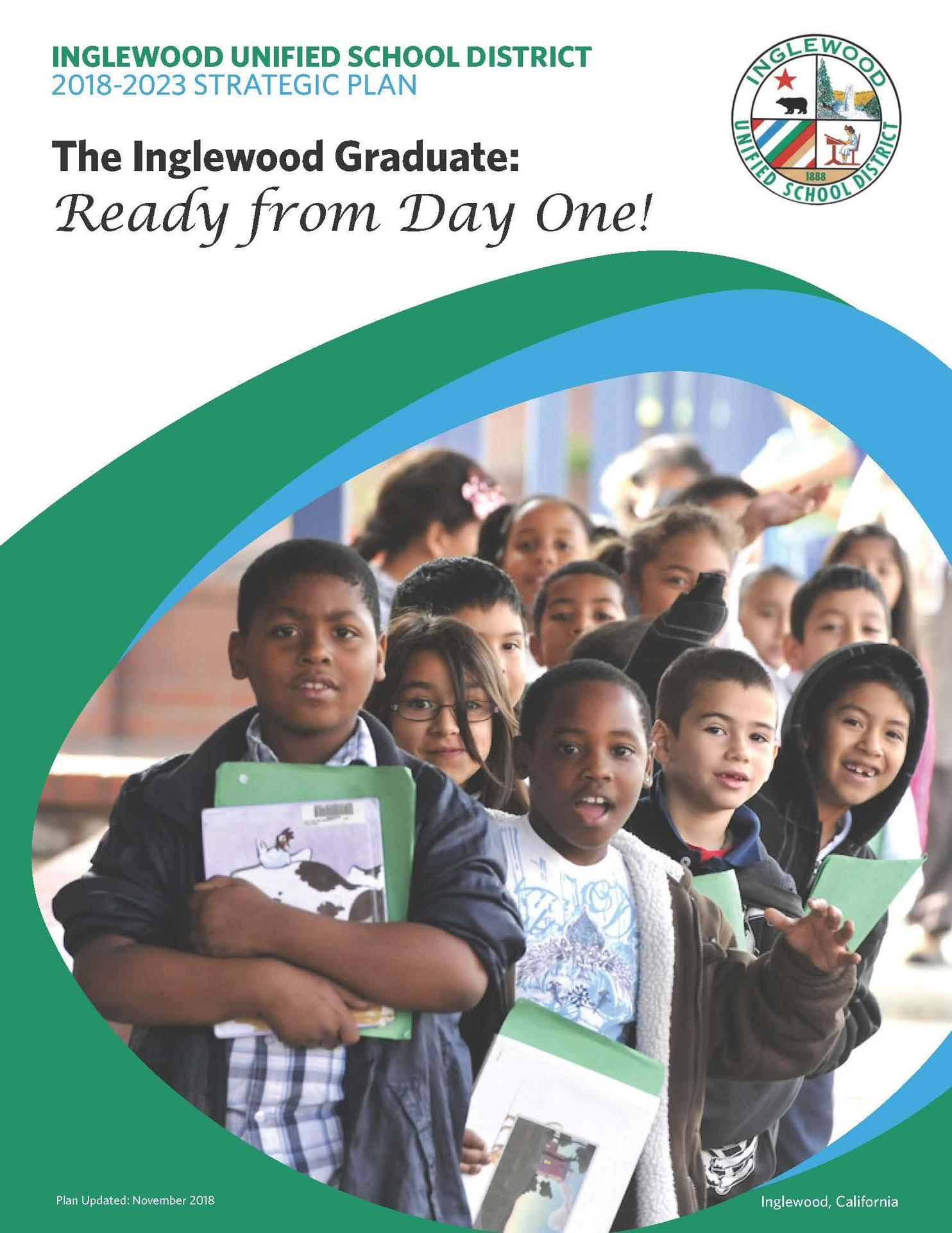Cover of the 5-year strategic plan