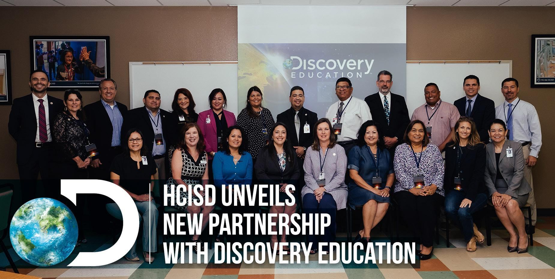 HCISD unveils new partnership with Discovery Education