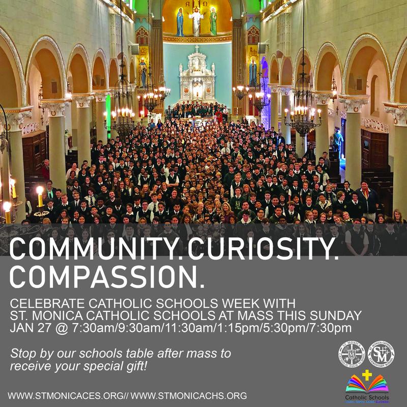 Catholic Schools Week begins this weekend. #CSW19 Featured Photo