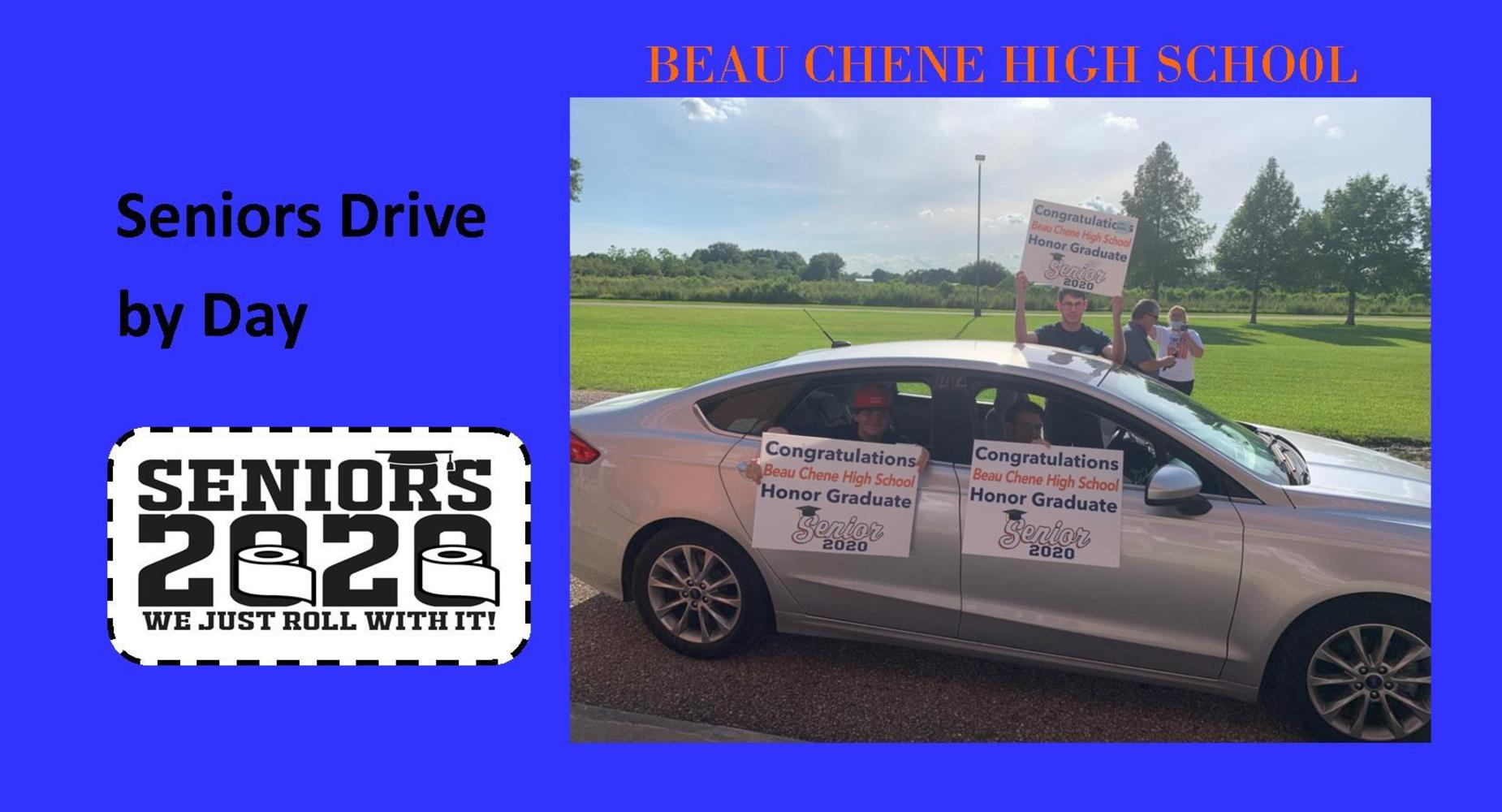 Senior Drive by Day celebration #3