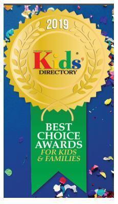 2019 Kids Directory Award logo