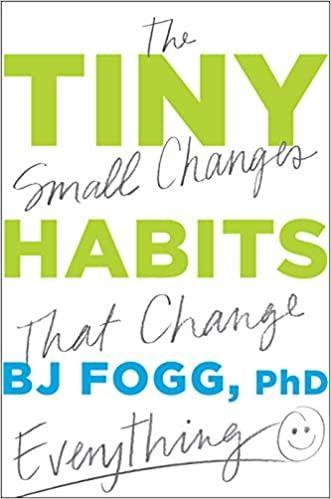 Book cover Tiny Habits