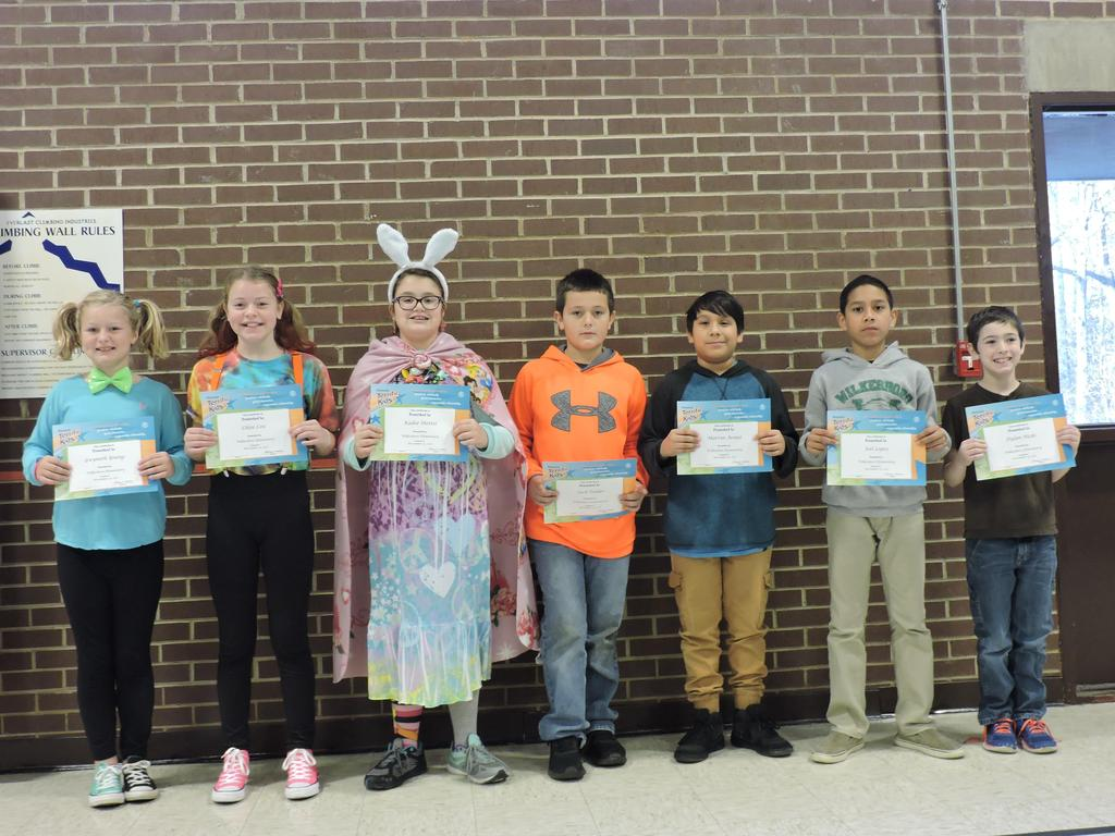 4th Grade Terrific Kids