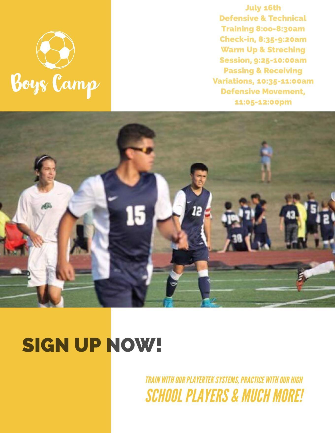 Boy's Soccer Summer Camp pg2