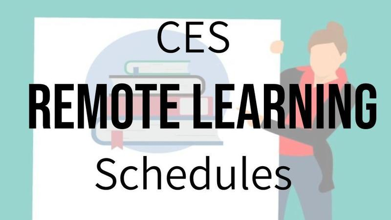 Remote Learning Schedules Banner