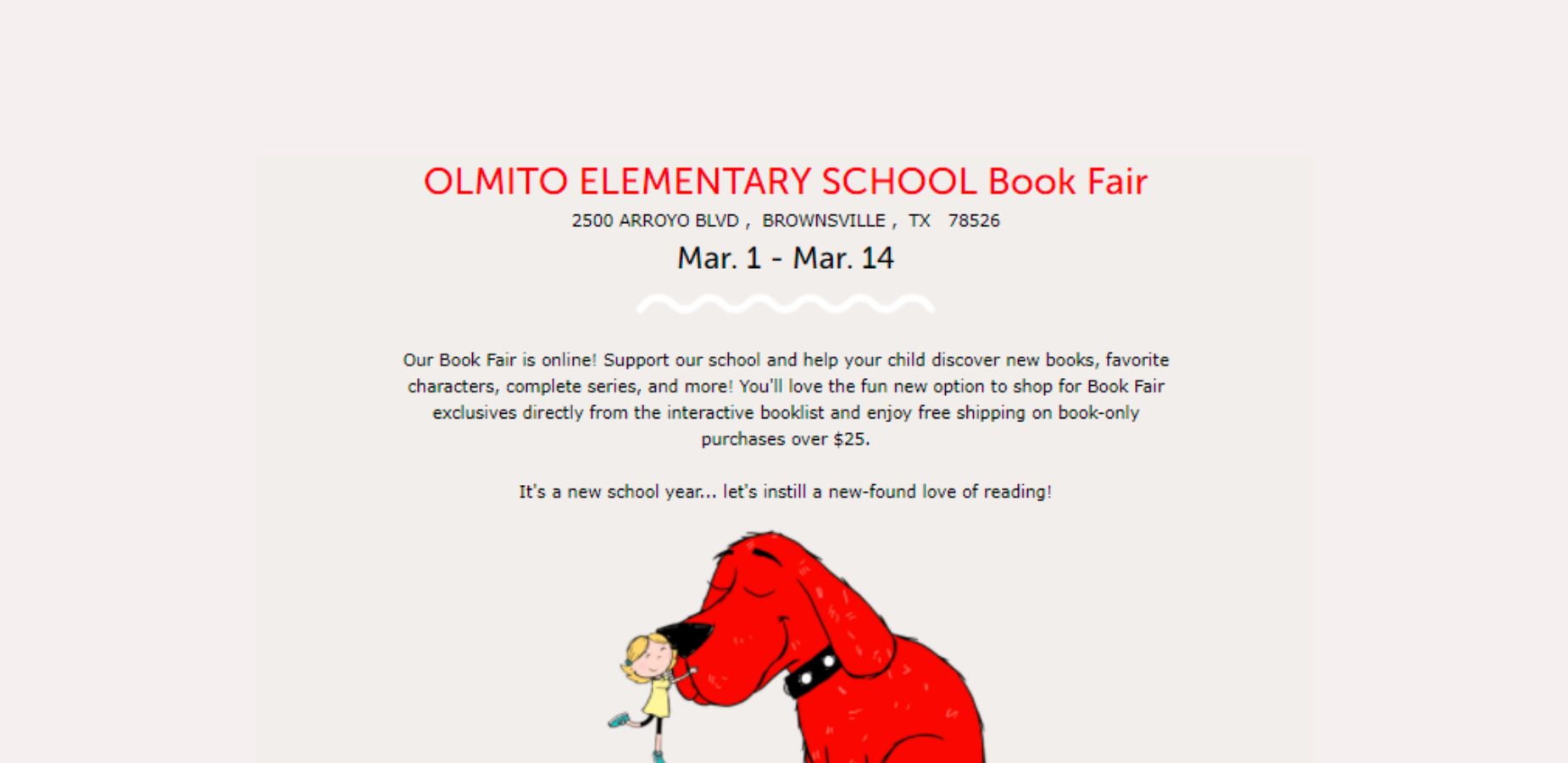 OES Virtual Book Fair