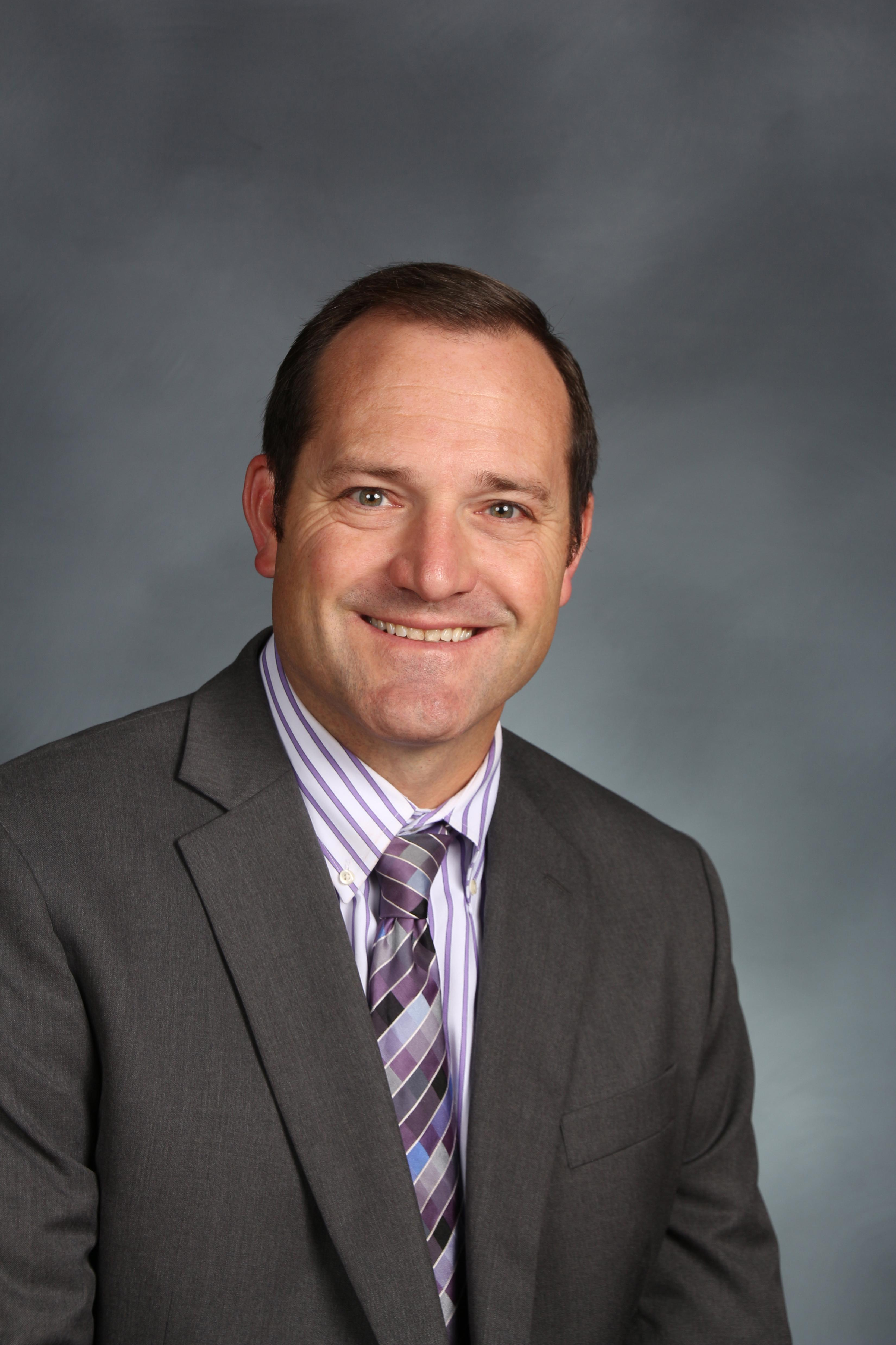 Dr. Brian Prybil, Asst. Superintendent for Elementary Teaching & Learning