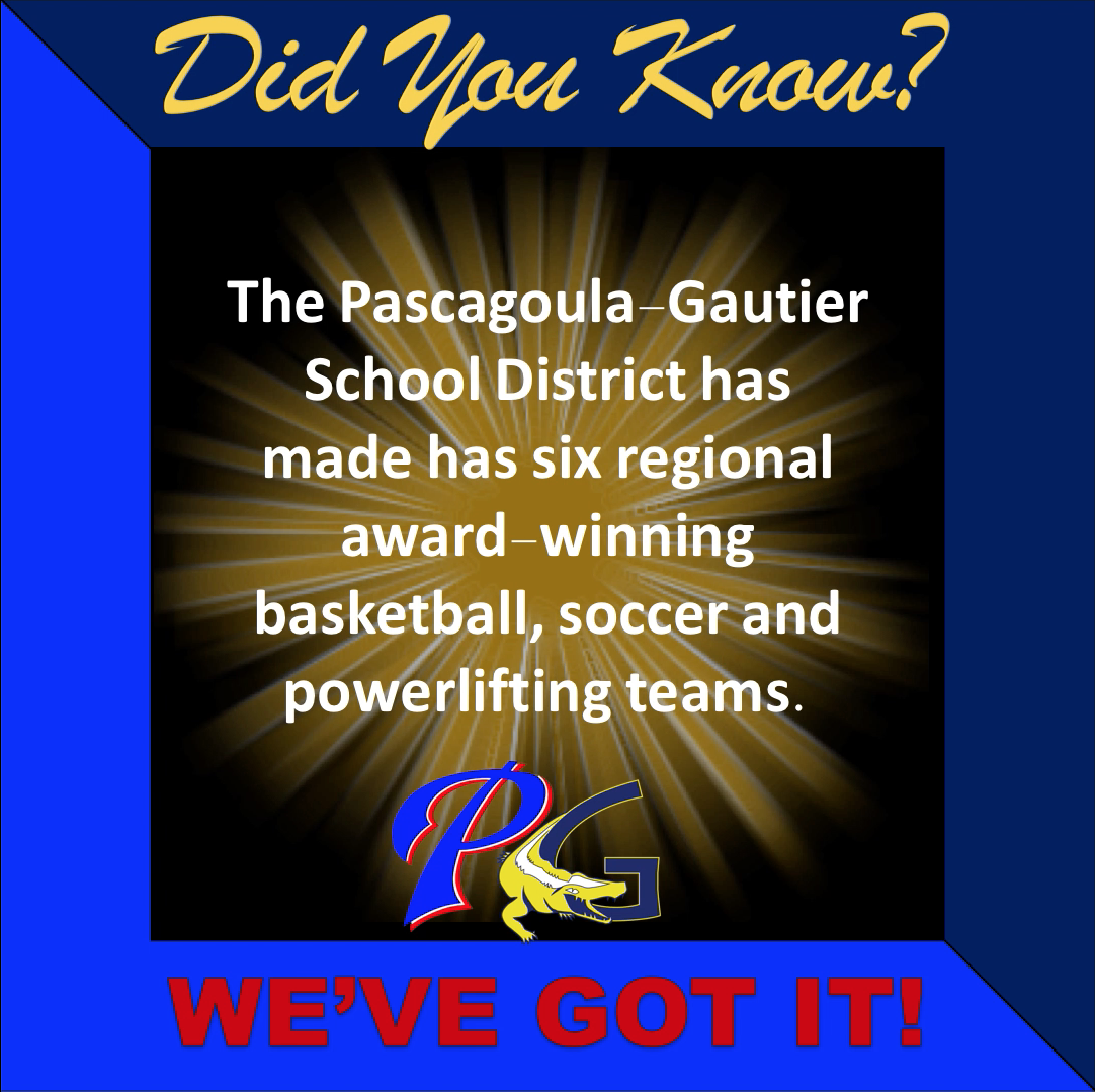 Did you know PGSD has six regional award winning basketball, soccer and powerlifting teams