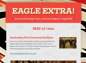 eagle extra newsletter