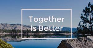 Together is Better Poster