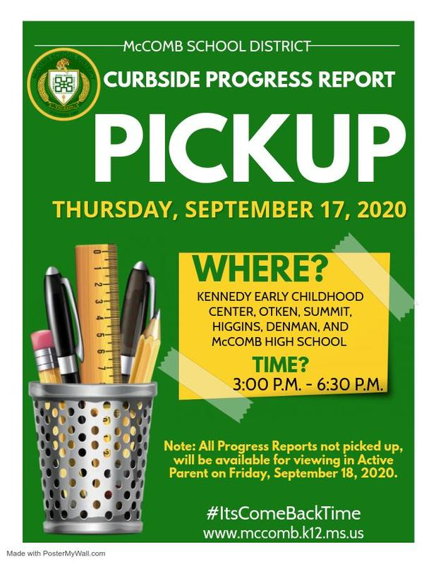 Provided by the McComb School District Community Engagement Department. #ItsComeBackTime