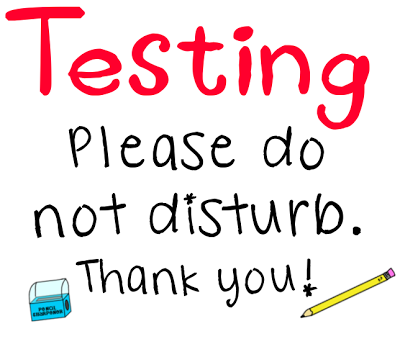Testing. Please do not disturb!