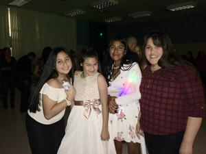 Students at a dance.