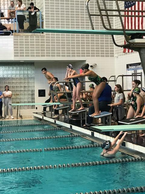 Swim Team Wins First Meet! Featured Photo