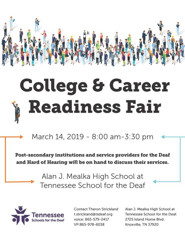 TSD Knoxville College & Career Readiness Fair Flyer