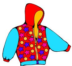 clipart of a coat
