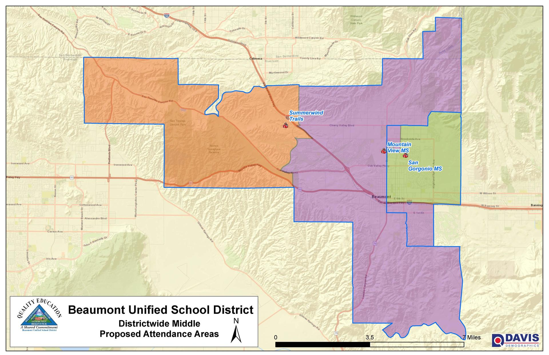 Proposed Middle School Boundary
