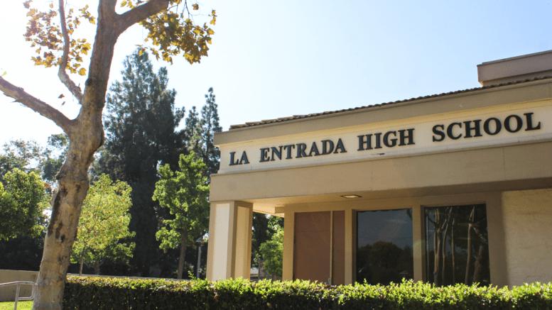 LEHS Entrance
