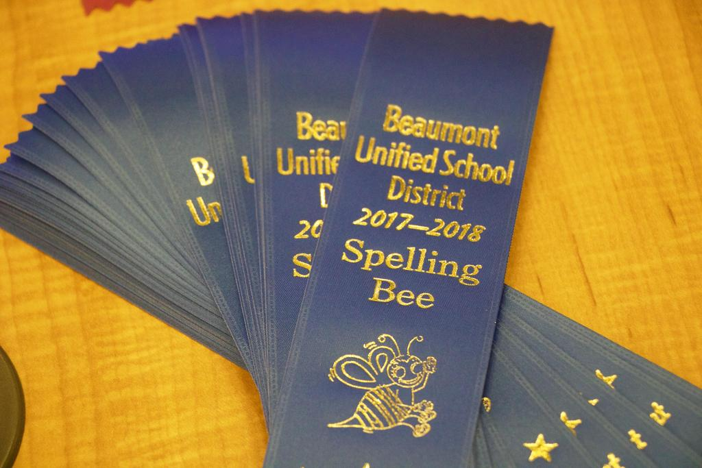 Spelling Bee Ribbons