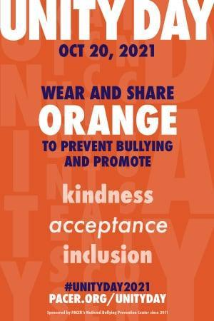 October 20th, Unity Day - Wear Orange Featured Photo