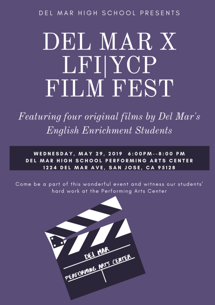 Image of poster for Latino Film Institute / Youth Cinema Project Film Fest on May 29