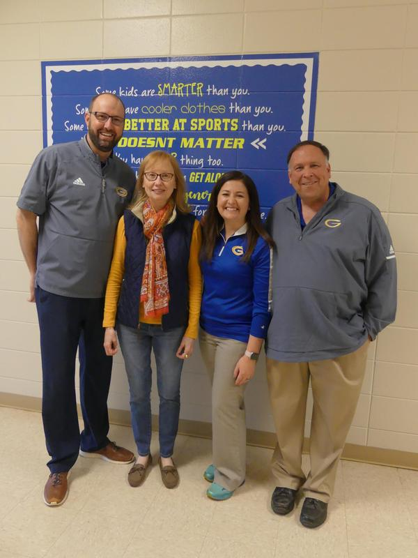 Staff Member of the Month - Mrs. Laurie Shreefer