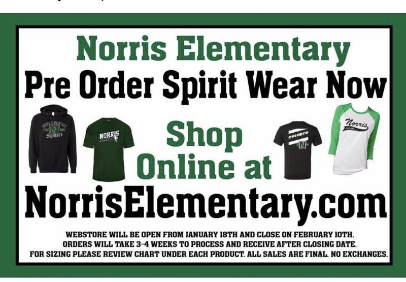 Preorder Spirit Wear