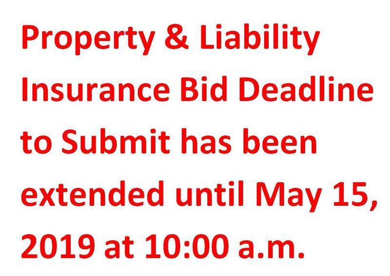 Property & Liability Insurance Bid Deadline Featured Photo