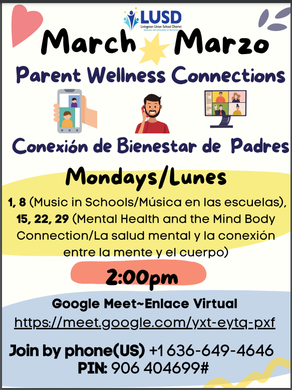 Google link for parents to check in