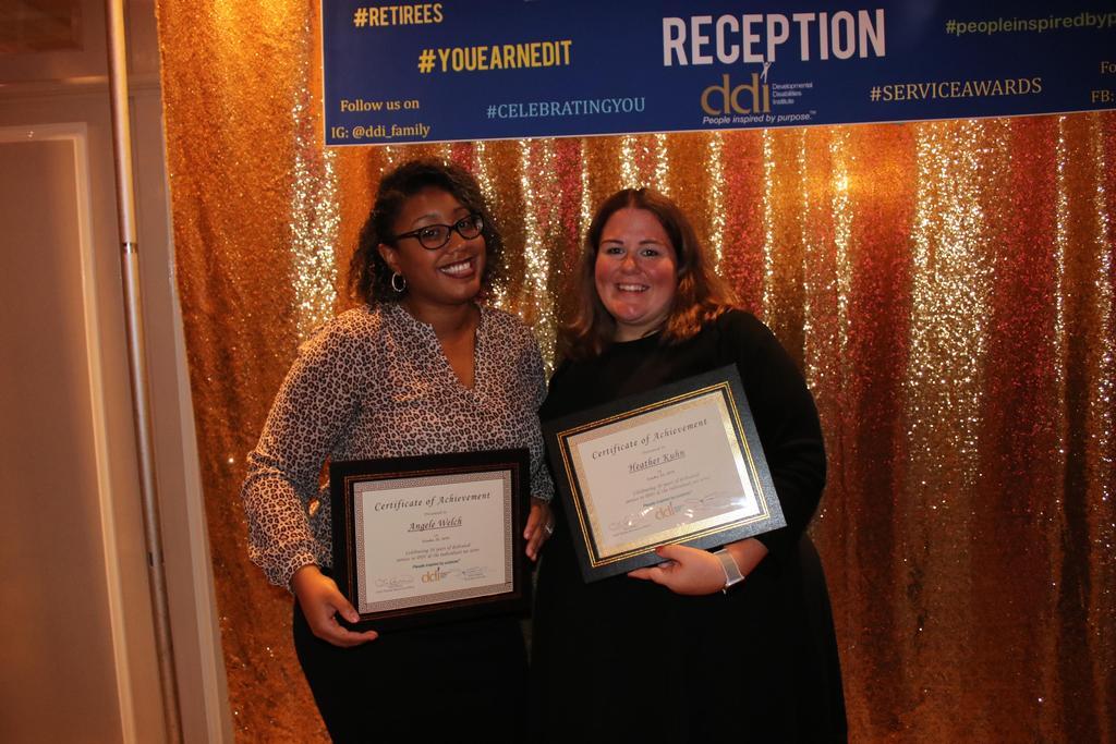 10-Year Service Award recipients