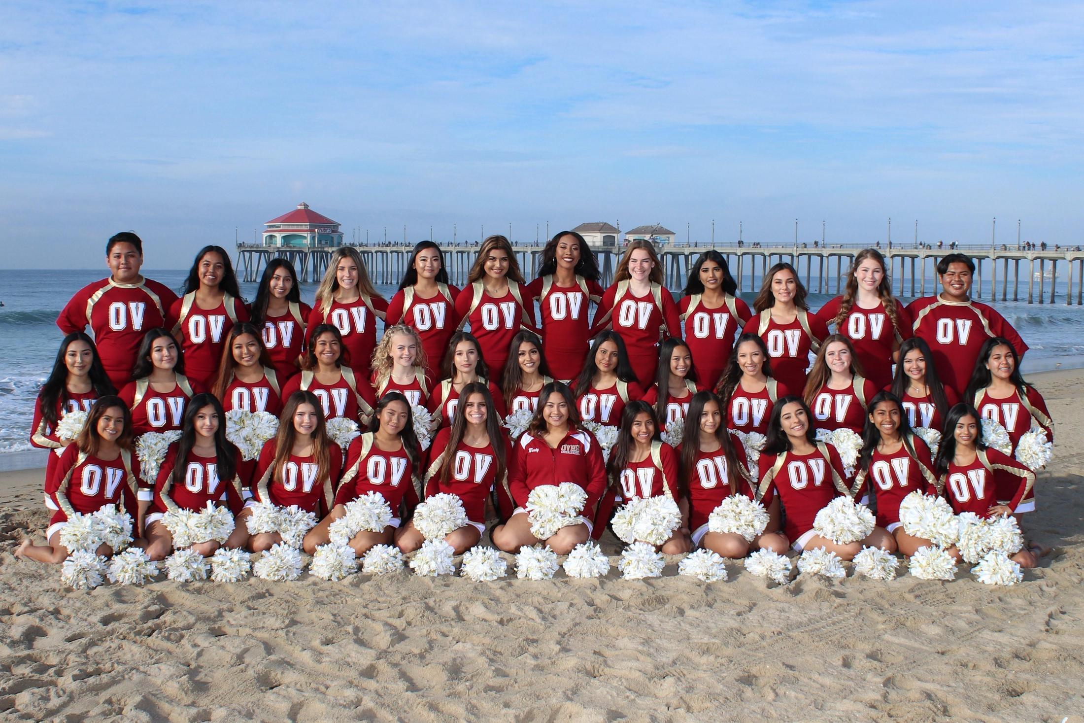 Varsity Cheer Full Team