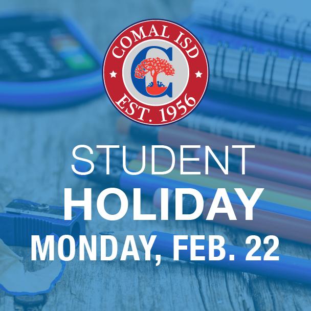 Student Holiday Feb 22