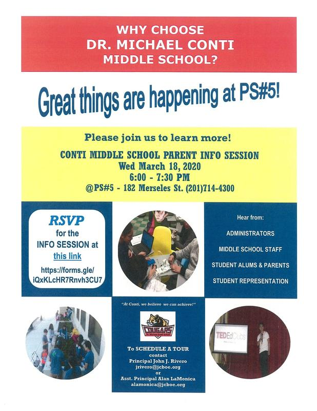 Middle School Open House Featured Photo