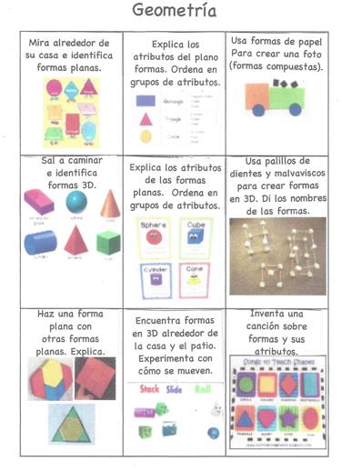 Tablero de elección de estudiantes de matemáticas
