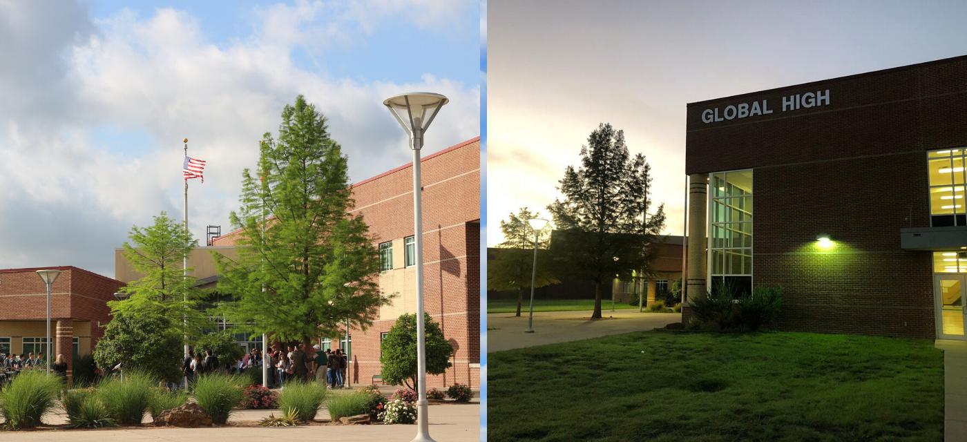 exterior of campus