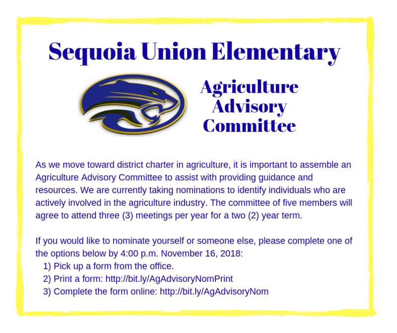 NEEDED: Members for the new Ag Advisory Committee! Thumbnail Image
