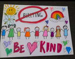 Danna's anti-bullying poster