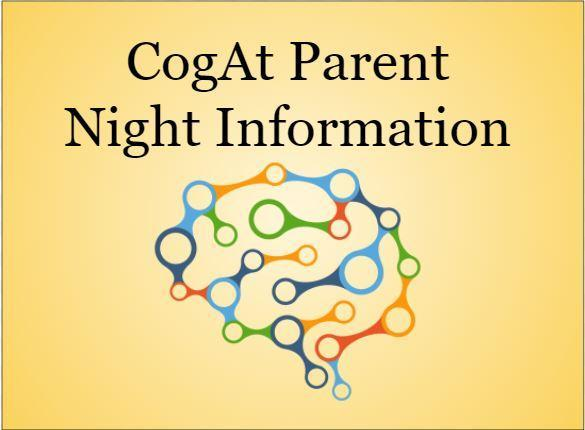 Cog At Parent Night Information
