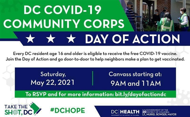 Join the Community Corps Day of Action! Featured Photo
