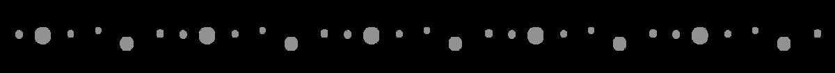 gray bubble line