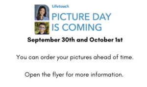 September 30th and October 1st You can order your pictures ahead of time. Open the flyer for more information..png